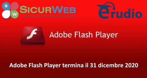 Adobe Flash Player e SICURWEB