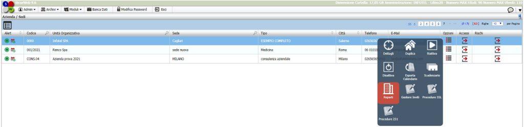 SicurWeb gestione aziendale rspp hse