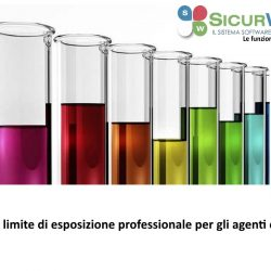 Valori limite di esposizione professionale per gli agenti chimici